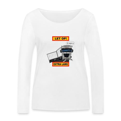 0850 extra lang - Vrouwen bio shirt met lange mouwen van Stanley & Stella