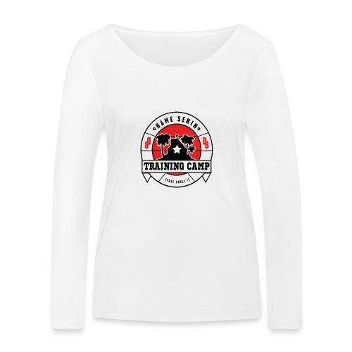 kame senin camp - Women's Organic Longsleeve Shirt by Stanley & Stella