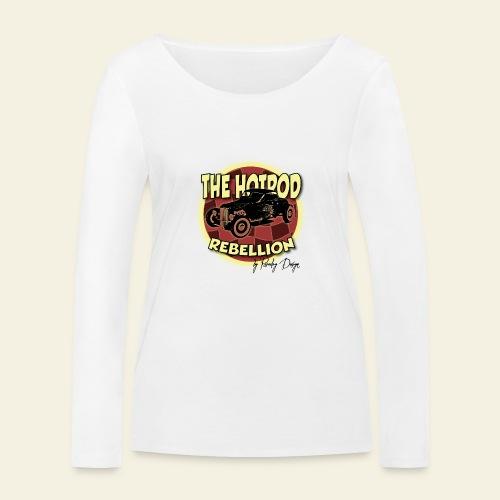 hotrod rebellion - Økologisk Stanley & Stella langærmet T-shirt til damer
