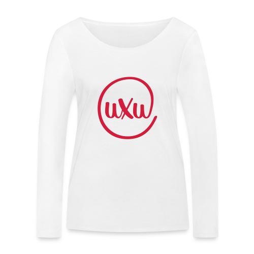 UXU logo round - Women's Organic Longsleeve Shirt by Stanley & Stella