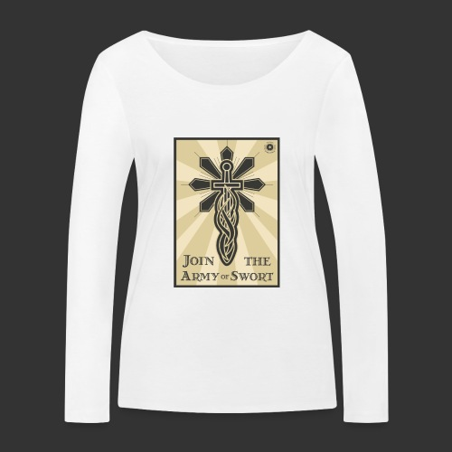 Join the army jpg - Women's Organic Longsleeve Shirt by Stanley & Stella
