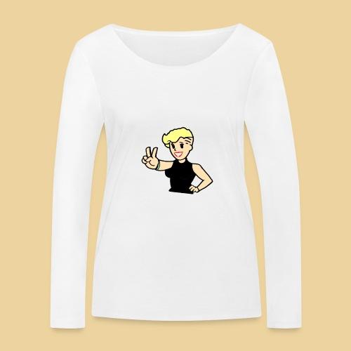 Ms Undercut - Frauen Bio-Langarmshirt von Stanley & Stella