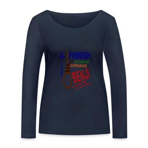FINNISH-BENJI - Women's Organic Longsleeve Shirt by Stanley & Stella
