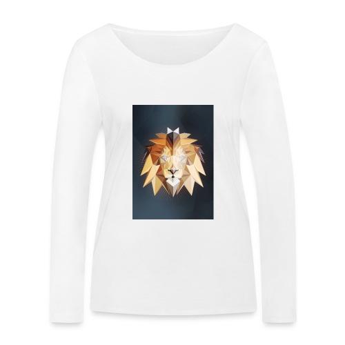 Polygon Lion - Frauen Bio-Langarmshirt von Stanley & Stella