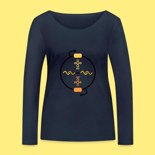 Biocontainment tRNA - shirt men - Vrouwen bio shirt met lange mouwen van Stanley & Stella