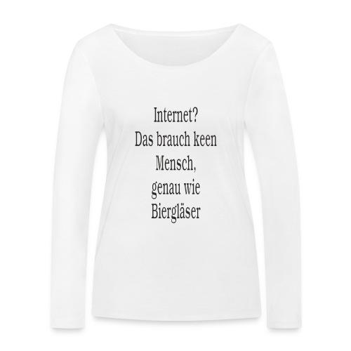 Internet - Frauen Bio-Langarmshirt von Stanley & Stella