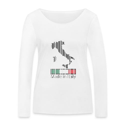 Made in Italy - Maglietta a manica lunga ecologica da donna di Stanley & Stella