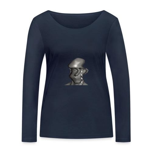 cursor_tears - Women's Organic Longsleeve Shirt by Stanley & Stella