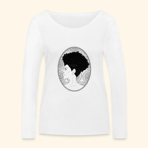 afro-mandala - Maglietta a manica lunga ecologica da donna di Stanley & Stella