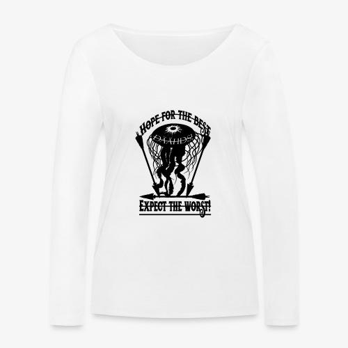 Hope the Best - Frauen Bio-Langarmshirt von Stanley & Stella