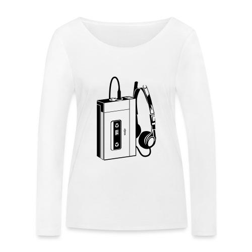 WALKMAN - T-shirt manches longues bio Stanley & Stella Femme
