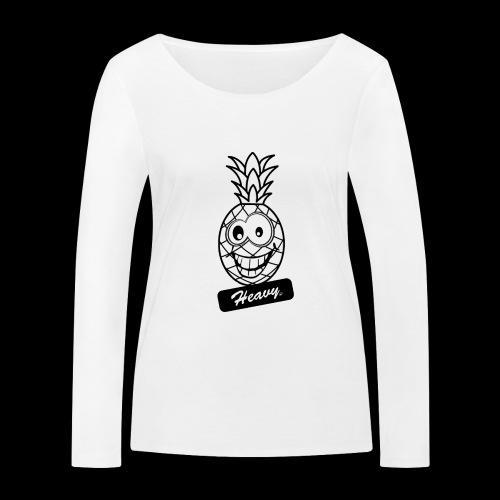Design Ananas Heavy - T-shirt manches longues bio Stanley & Stella Femme