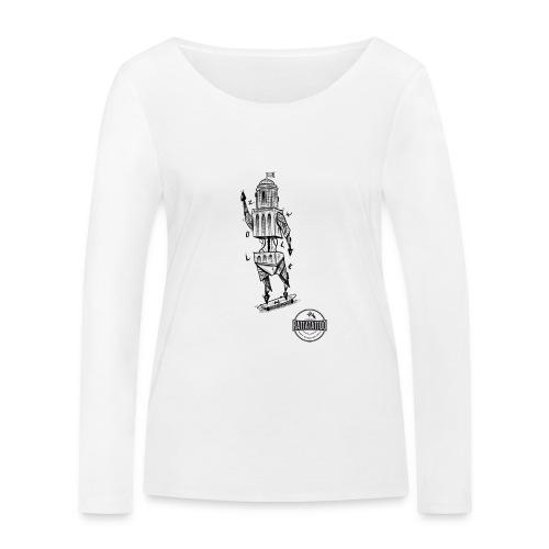 ZWOLLE 038 rattatattoo zwolle perperbus - Vrouwen bio shirt met lange mouwen van Stanley & Stella