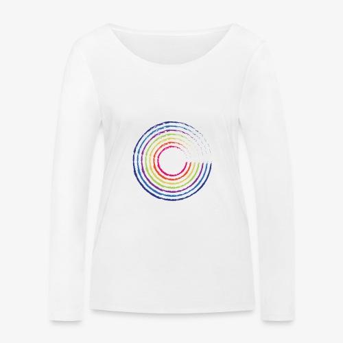 Circle rainbow - Maglietta a manica lunga ecologica da donna di Stanley & Stella
