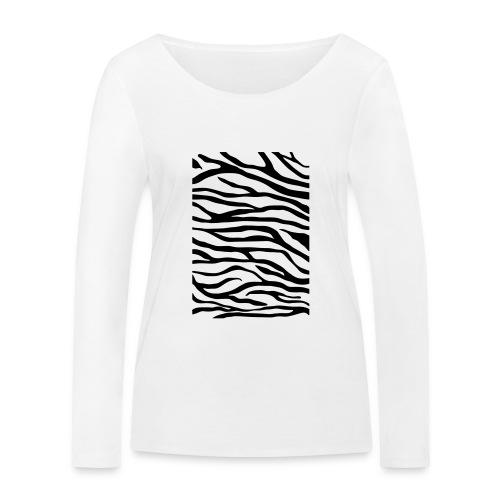 zebra v6 - Vrouwen bio shirt met lange mouwen van Stanley & Stella