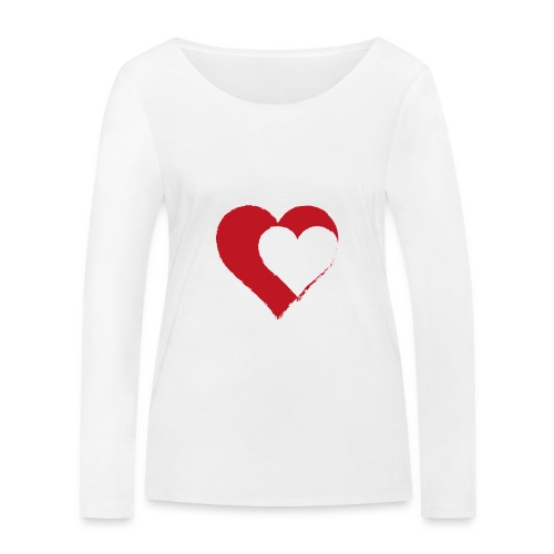 2LOVE - Ekologiczna koszulka damska z długim rękawem Stanley & Stella