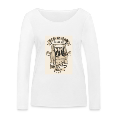 Drink The Freshness - T-shirt manches longues bio Stanley & Stella Femme