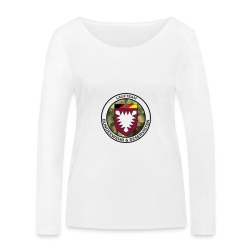 Logo des Laufteams - Frauen Bio-Langarmshirt von Stanley & Stella