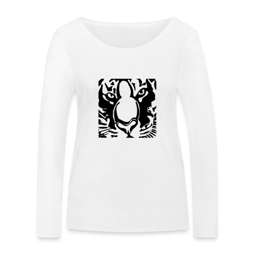tijger2010shirt2 - Women's Organic Longsleeve Shirt by Stanley & Stella