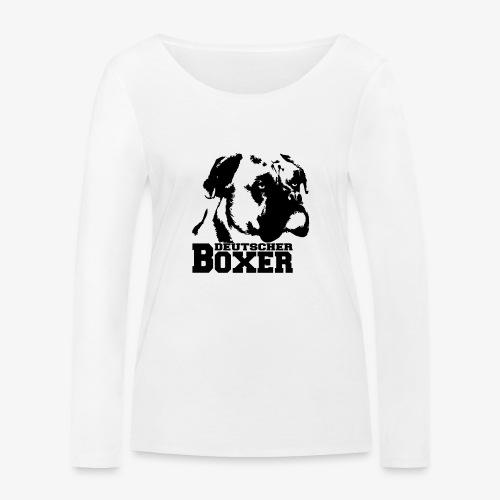 Deutscher Boxer - Frauen Bio-Langarmshirt von Stanley & Stella