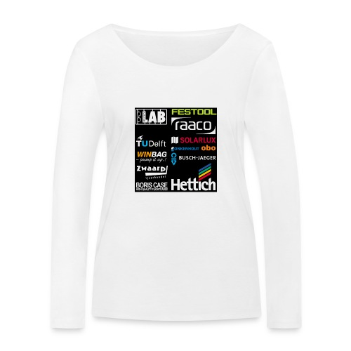 Sponsors back - Women's Organic Longsleeve Shirt by Stanley & Stella