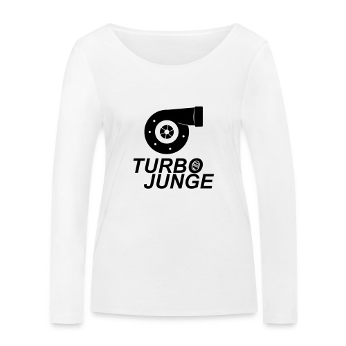 Turbojunge! - Frauen Bio-Langarmshirt von Stanley & Stella