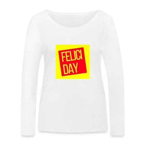 Feliciday - Camiseta de manga larga ecológica mujer de Stanley & Stella