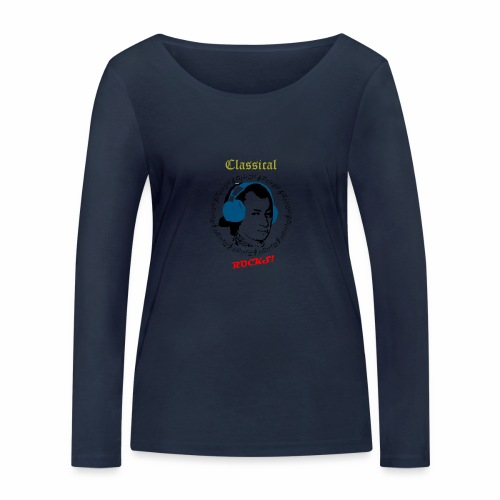 Classical Rocks! - Women's Organic Longsleeve Shirt by Stanley & Stella