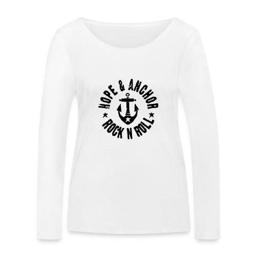 Hope & Anchor - Rock´n´Roll - Frauen Bio-Langarmshirt von Stanley & Stella