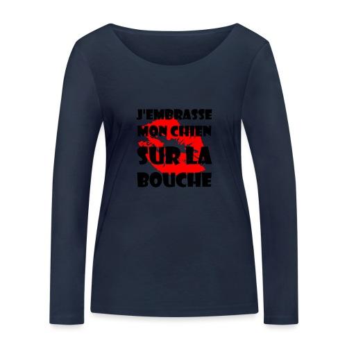 lips - T-shirt manches longues bio Stanley & Stella Femme