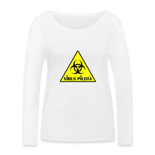 viruspelote png - T-shirt manches longues bio Stanley & Stella Femme