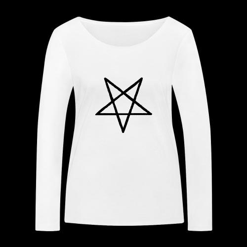 Pentagram2 png - Frauen Bio-Langarmshirt von Stanley & Stella