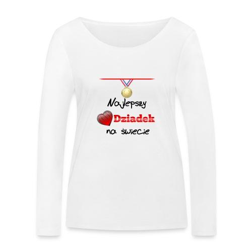 nadruk_rodzinne_01 - Ekologiczna koszulka damska z długim rękawem Stanley & Stella
