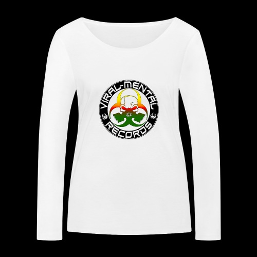 Viral Mental Records Logo - Women's Organic Longsleeve Shirt by Stanley & Stella
