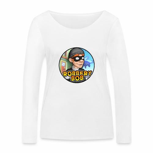 Robbery Bob Button - Women's Organic Longsleeve Shirt by Stanley & Stella