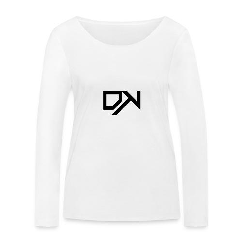DewKee Logo T-Shirt Black - Women's Organic Longsleeve Shirt by Stanley & Stella