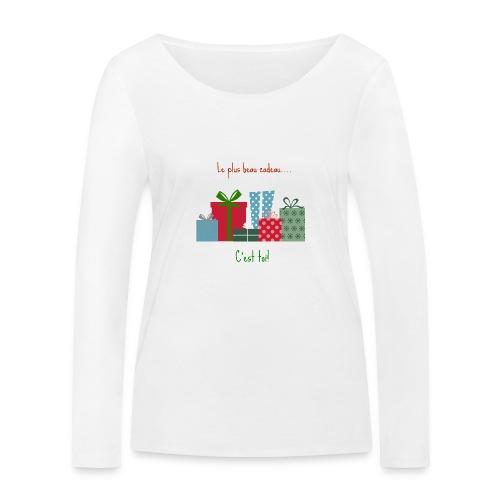 Le plus beau cadeau - T-shirt manches longues bio Stanley & Stella Femme