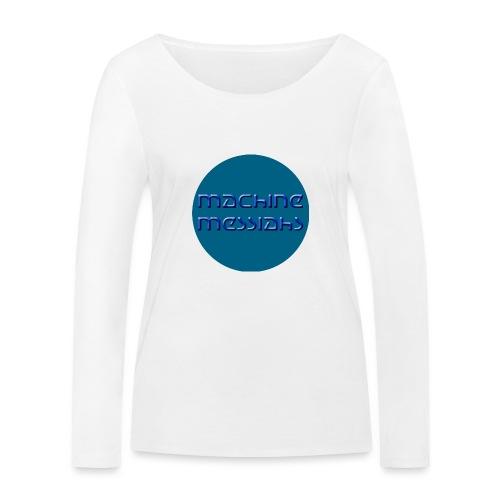 mm - button - Women's Organic Longsleeve Shirt by Stanley & Stella