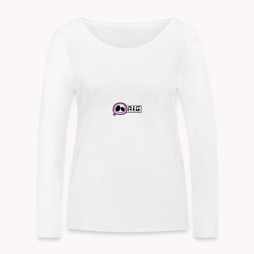 logo_PIGstudio-png - Maglietta a manica lunga ecologica da donna di Stanley & Stella
