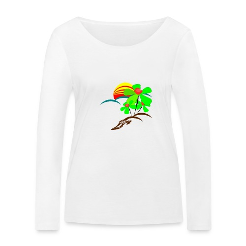 Berry - Women's Organic Longsleeve Shirt by Stanley & Stella