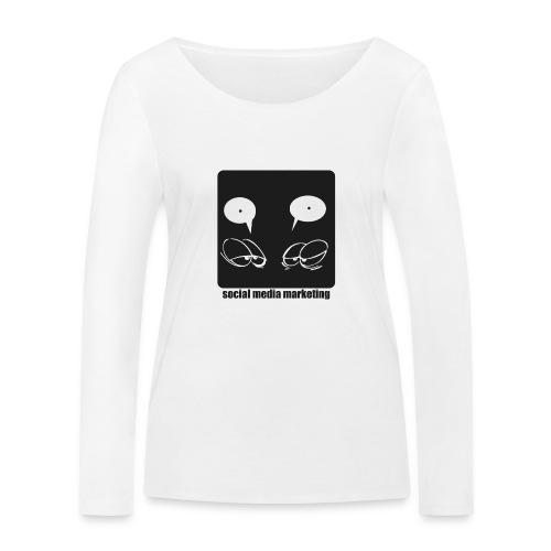 Sozial Media Marketing - Frauen Bio-Langarmshirt von Stanley & Stella