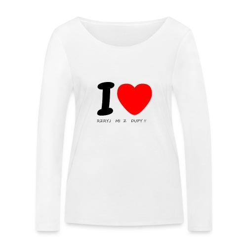 Bluzka damska - Ekologiczna koszulka damska z długim rękawem Stanley & Stella