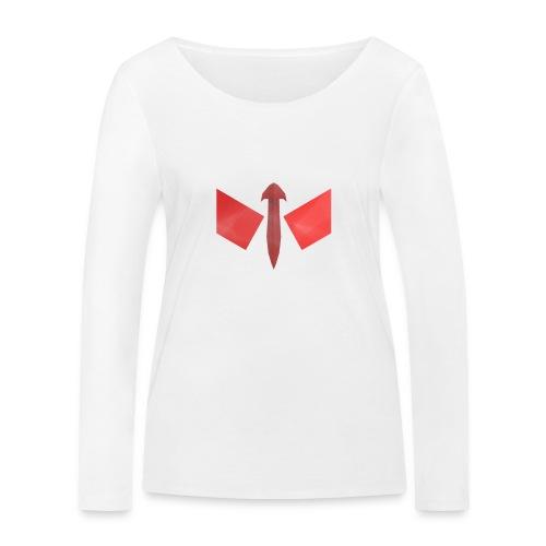 butterfly-png - Vrouwen bio shirt met lange mouwen van Stanley & Stella