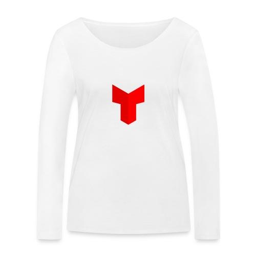 redcross-png - Vrouwen bio shirt met lange mouwen van Stanley & Stella