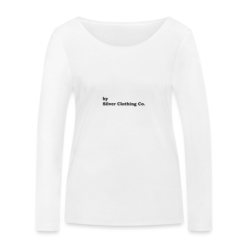 by Silver Clothing Co. - Økologisk Stanley & Stella langærmet T-shirt til damer
