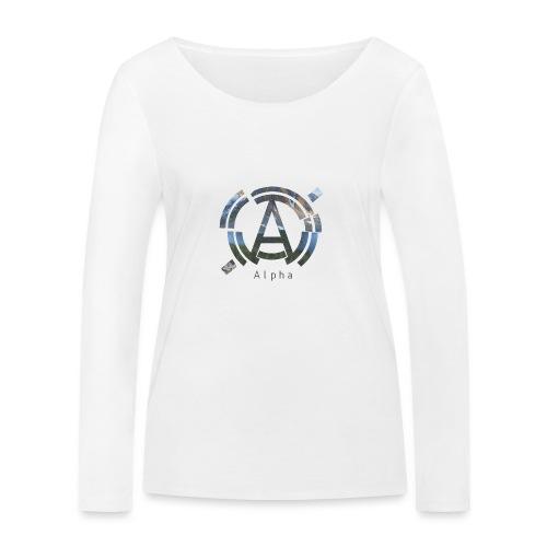 AlphaOfficial Logo T-Shirt - Women's Organic Longsleeve Shirt by Stanley & Stella