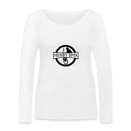 Plain Man's T-Shirt (Official HenbyBMX Logo) - Women's Organic Longsleeve Shirt by Stanley & Stella