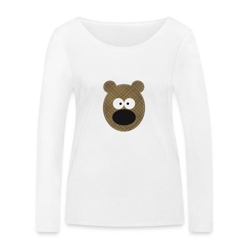 Little Bear - Maglietta a manica lunga ecologica da donna di Stanley & Stella