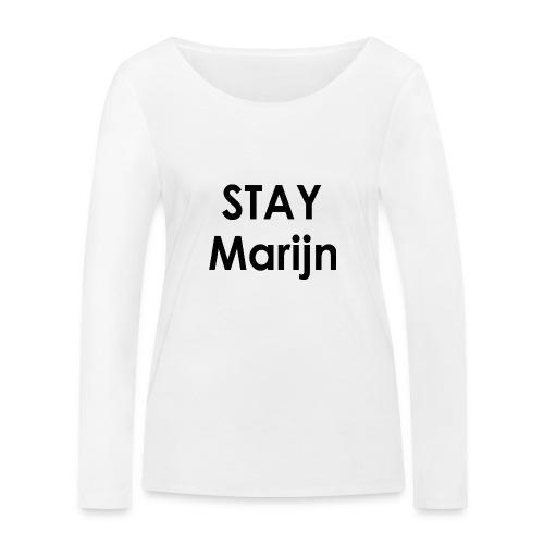 stay marijn black - Vrouwen bio shirt met lange mouwen van Stanley & Stella
