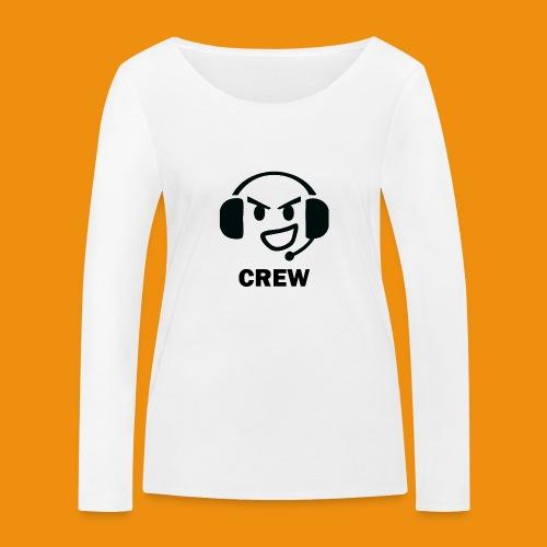 T-shirt-front - Økologisk Stanley & Stella langærmet T-shirt til damer